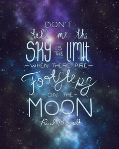 Don't Tell Me The Sky Is The Limit~positivity greeting card. Graduate. encourage! self-esteem quote. direct sellers team | quotes | Quotes. Space ...