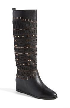 THESE ARE A WORK OF ART Ivy Kirzhner Genuine Calf Hair & Leather Boot