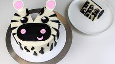 Zeek the Zebra Cake Tutorial and Recipe!