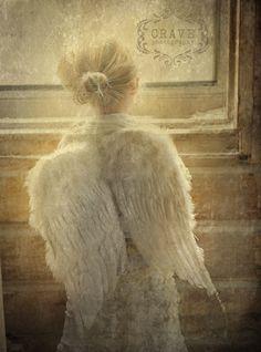 Angel looking in
