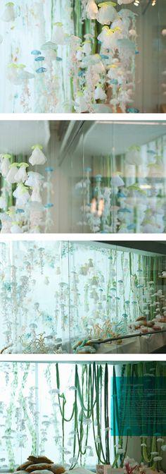 Sayuri Sasaki Hemann--beautiful installation