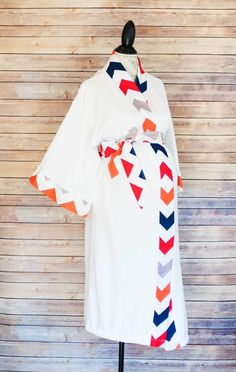 Ryder Maternity Kimono Robe - Super Soft Microfleece - Add a Labor and Delivery Gown to Match