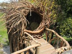 California-based artist Jayson Fann designs and creates spirit nests which are big enough for humans. Each nest is an interactive and functional art sculpture. It's a wonderful experience to sleep like a bird in the nest.    … Continue Reading →