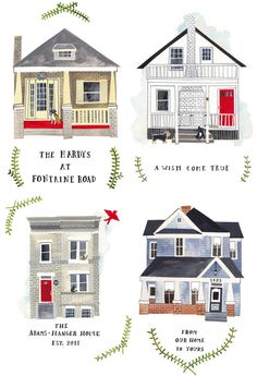 House portraits