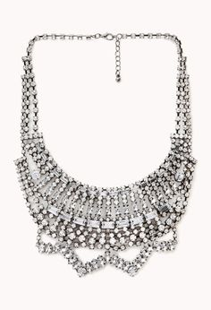 Forever 21 High Society Bib Necklace on shopstyle.com
