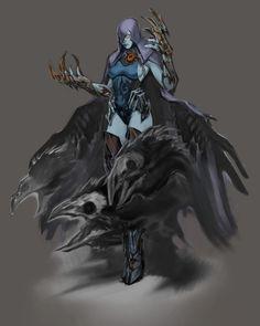 Raven Design - Characters & Art - Injustice: Gods Among Us