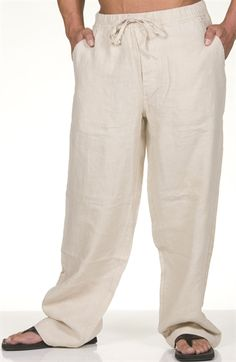 Big & tall, Linen pants and Pants on Pinterest