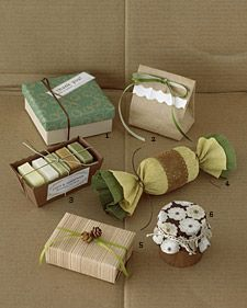 Wrapping ideas using items you already have in your home. #christmas