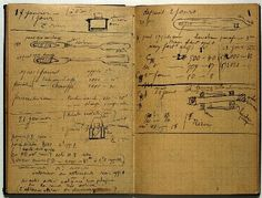 'Marie Curie: Holograph Notebook', Wellcome Library, London. Page from notebook.27 May 1899 - 4 December 1902 containing notes of experiment...