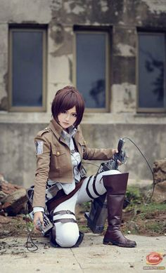 Cosplay Attack On Titan (3) - VnExpress Game Thủ