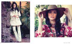InStyle Thailand - Jamie Alexander 3 Instyle Magazine, Thailand, Hats, Fashion, Moda, Hat, Fashion Styles, Fashion Illustrations, Hipster Hat
