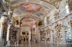 World's 20 Most Stunning Libraries | Fodors Admont Monastery, Admont Austria