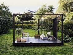 Outdoor room inspiration #modern landscaping design #mornington peninsula