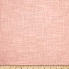 Jaclyn Smith Linen/Rayon Blend Blush from @fabricdotcom  This linen/rayon blend  medium/heavyweight fabric is very versatile and perfect for window treatments (draperies, valances, curtains, and swags), pillow shams, duvet covers, toss pillows and upholstery. This fabric has 10,000 double rubs.