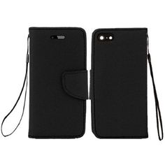 Insten Premium Leather Flip Wallet Cover Case with Card Slot For Apple iPhone 6 #1951693