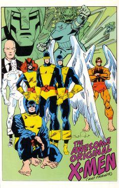 The original X-Men by Walt Simonson