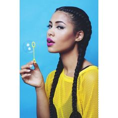 BRANDON HICKS - Asia Dee by Brandon Hicks ❤ liked on Polyvore featuring hair and people