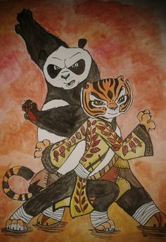Image Result For Po And Tigress Kfp 3 Fan Art Ships In 2018