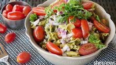 50 vegetarian recipes to make your Meatless Monday so delicious: Kale-pesto pasta salad