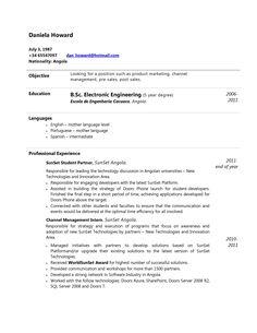 curriculum vitae para descargar en word ejemplos y modelos de cv