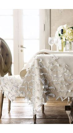 Ribbon Table Runner by Horchow