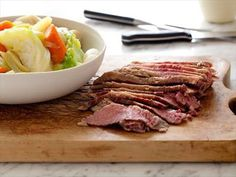 The best Corned Beef and Cabbage recipe for St. Corned Beef and Cabbage TIPS Do not undercook or overco. Corn Beef And Cabbage, Cabbage Recipes, Beef Recipes, Cooking Recipes, Slow Cooking, Yummy Recipes, Yummy Food, Dinner Recipes, Braised Cabbage