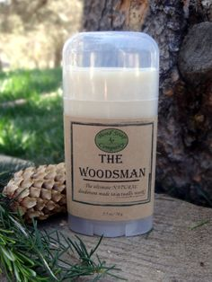 Bend Soap Co. - Natural Deodorant - The Woodsman, $6.95 (http://www.bendsoap.com/products/natural-deodorant/natural-deodorant-the-woodsman/)