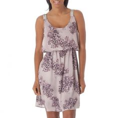 Printed Empire Waist Dress