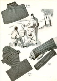 Knit For Victory WW11 British hand knitting patterns 1940