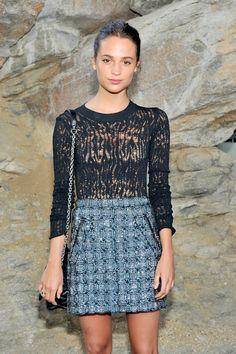 Alicia Vikander Confirms She's New Louis Vuitton Spokesperson - Resort 2016 Show