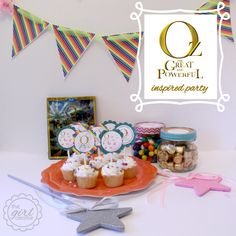 Oz the Great and Powerful Inspired Party with Free Printables - The Girl Creative