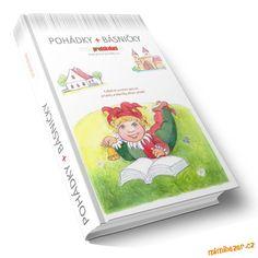 AKTIVITY S DĚTMI - Stáhněte si ZDARMA e-knihu č.4 Pohádky a básničky Montessori, Preschool, Teaching, Writing, Education, Logos, Cover, Fun, House