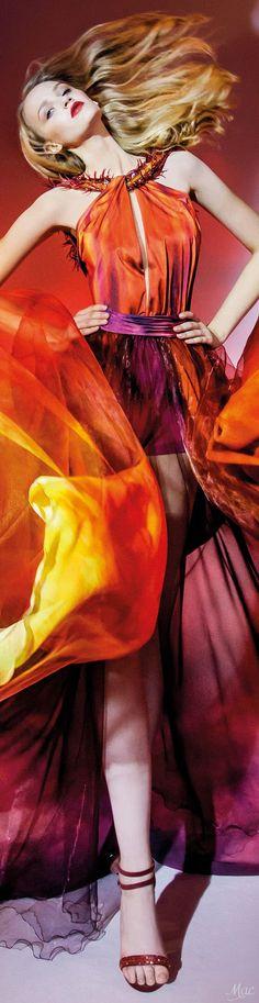 "Fall 2016 Haute Couture - Blanka Matragi ""Elements: ""Fire"", 2017 Collection"