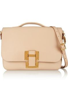 Soft Flap leather shoulder bag #shoulderbag #women #covetme #sophiehulme