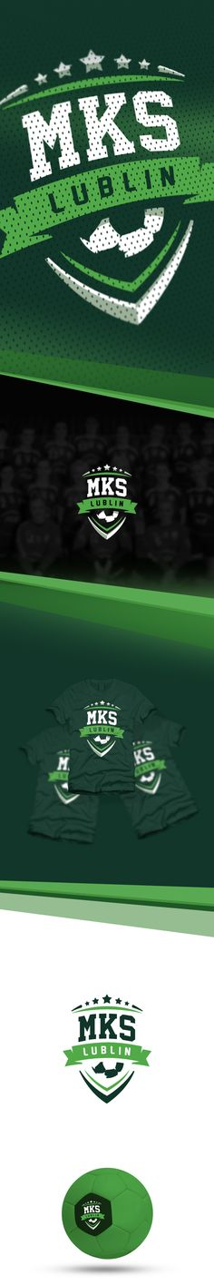 MKS Lublin - womens handball team (Poland) on #Behance #Branding #Identity