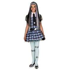 Costume Monster High Frankie Stein  costumi  travestimenti  carnevale   costumidicarnevale  monsterhigh 20fa955a68c