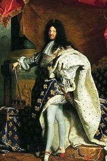 Hyacinthe Rigaud Louis XIV of France, O/C. Salon Hyacinthe Rigaud's famous portrait of Louis XIV was displayed on a dais draped with velvet. Bronze vases by the sculptor François Girardon framed the presentation of the royal presence. French History, European History, Art History, History Jokes, History Timeline, History Class, Modern History, Portrait Male, Pet Portraits