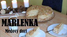 Recept na medový dort. Bread, Food, Brot, Essen, Baking, Meals, Breads, Buns, Yemek