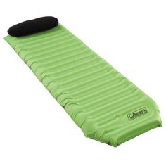 51254c16ba7 Give yourself extra cushion at the campsite with a Coleman® Silverton™ Air  Pad. This camp pad inflates to high - the perfect camping accessory.