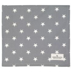 GreenGate Autumn/Winter 2014 Teatowel Star Warm Grey 50 x 70 cm