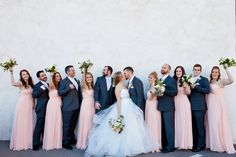 Navy & Blush!  #azweddings #weddingcolors