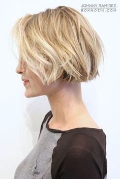 This but with more texture and with the perimeter layer 3/4 inch longer, but layered to her length