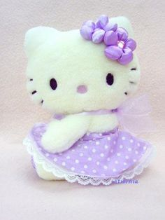 lavender hello kitty