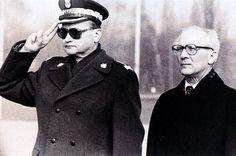 Jaruzelski and Honecker