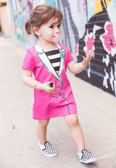 How to dress a child on the street