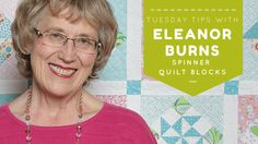 Eleanor Burns shows you how to make Spinner Quilt Blocks. Nicknamed the block, the piecing is fast and easy with AccuQuilt Fabric Cutters! Quilting Tips, Quilting Tutorials, Youtube Quilting, Quilt In A Day, Fabric Cutter, Pattern Books, Quilt Making, Quilt Blocks, Star Blocks