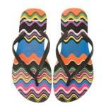 Love or Hate: Missoni for Havaianas multi-coloured flip flops