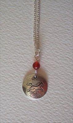 Silver and carnelian   handmade-beaded-gemstone-jewelry.com