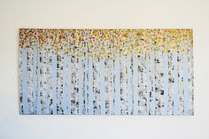 Made To Order Original Aspen Birch Tree Modern by ModArtSpace, $295.00