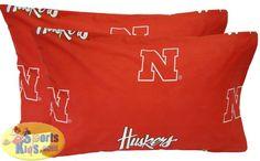 Nebraska Cornhuskers Baby Crib Fitted Sheet
